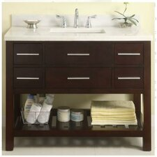 "Priva 42"" Open Bathroom Vanity Set"