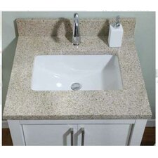 "<strong>Empire Industries</strong> Euro 28"" Granite Vanity Top"
