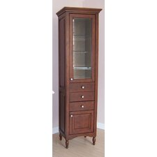"Windsor 21.12"" x 77.75"" Free Standing Linen Tower"