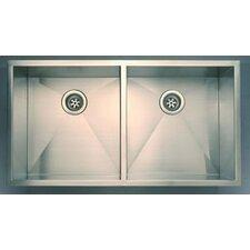 Everest Double Undermount Kitchen Sink