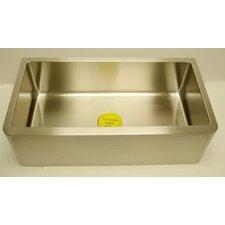 """33"""" x 17"""" Farm Single Undermount Loft Kitchen Sink"""