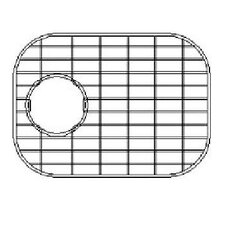 "14"" x 9"" Sink Grid for 16 Gauge Undermount Small Left Bowl Kitchen Sink"