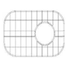 "15"" x 11"" Sink Grid for 18 Gauge Undermount Large Right Bowl Kitchen Sink"