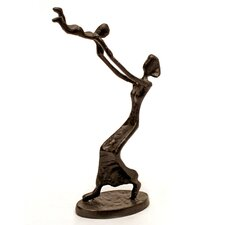 Mother Swinging Child Statue
