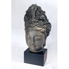 <strong>Vita V Home</strong> Female Buddah Head Statue