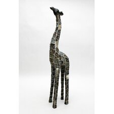Mosaic Animal Giraffe Resin Statue