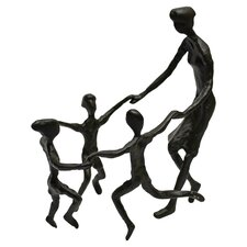Mother and Children Figurine