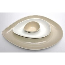 <strong>Vita V Home</strong> Skah Nested 3 Piece Serving Dish Set