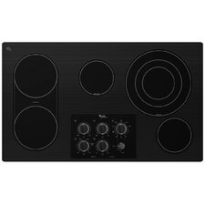 "36"" Bridge Element Ceramic Glass Electric Cooktop"