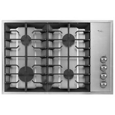 "30"" Recessed Grate Design Gas Cooktop"