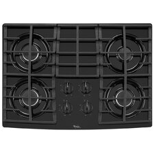 "30"" Cast-Iron Grates Gas Cooktop"
