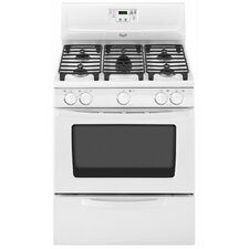 "Sabor 30"" Bilingual Controls Freestanding Gas Range"
