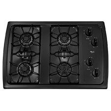 "30"" 5,000 BTU Accusimmer Burner Gas Cooktop"