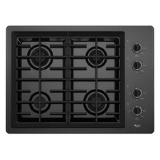 "30"" Two 12,500 BTU Power Burners Gas Cooktop"