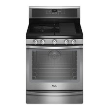 5.8 cu. ft. Timesavor Plus True Convection Cooking System Gas Range