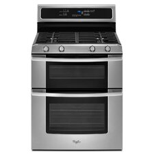 "30"" Self-Cleaning Double Oven Freestanding Gas Range"