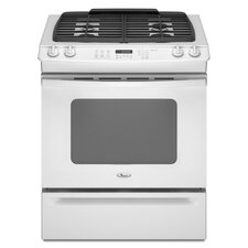 "30"" Self-Cleaning Slide-In Gas Range"