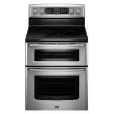 Gemini EvenAir True Convection Electric Double Oven Range