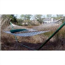 <strong>Outer Banks Hammocks</strong> Hand-woven Hammock with Stand