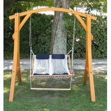 <strong>Outer Banks Hammocks</strong> Cypress Arc Swing Stand