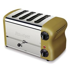 Esprit 4 Slice Toaster in Gold