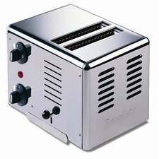 Premier 2 Slice Bread Toaster in Polished Stainless Steel