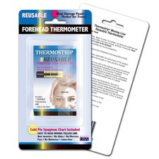 LCR Hallcrest Thermostrip Reusable Forehead Thermometers, 3pk