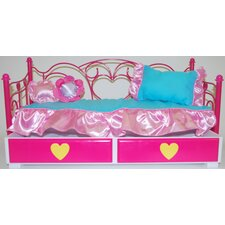 <strong>My Girl</strong> Day Bed with Trundle