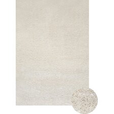 Abacasa Comfort Shag White Area Rug