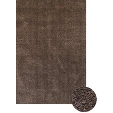 Comfort Shag Chocolate Area Rug