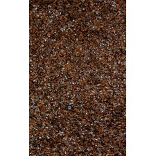 Lifestyle Shag Chocolate Area Rug