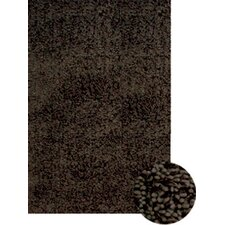 Abacasa Lifestyle Shag Chocolate Multi Area Rug
