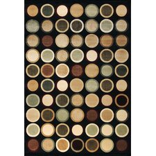 Abacasa Sonoma Beacon Black Area Rug