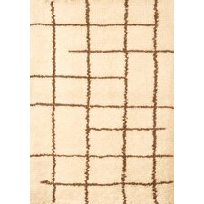 <strong>Abacasa</strong> Berber Off White/Chocolate Rug
