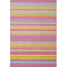 Jax Pink Stripes Rug