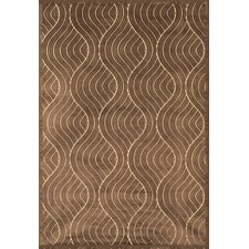 Napa Chocolate Brooks Area Rug