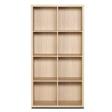 <strong>didit Click Furniture</strong> 4 Row and 2 Column Thick Framed Open Cabinet