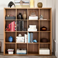 <strong>didit Click Furniture</strong> 4 Row and 4 Column Thick Framed Open Cabinet