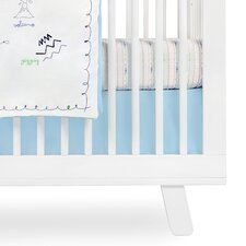 Alphabets Crib Skirt