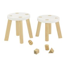 <strong>babyletto</strong> Kaleidoscape Stool (Set of 2)