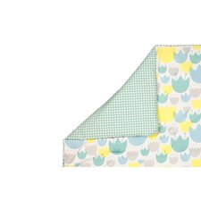 Tulip Garden 2 in 1 Play and Toddler Blanket