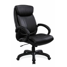 <strong>OfficeSource</strong> High-Back Executive Chair with Arms