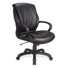 <strong>OfficeSource</strong> Mid-Back Executive Chair