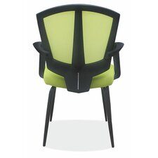 <strong>OfficeSource</strong> Sprint Side Chair with Arms