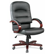 <strong>OfficeSource</strong> High-Back Executive Chair