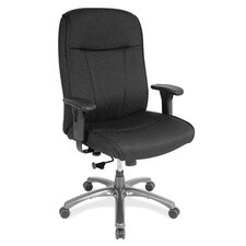 <strong>OfficeSource</strong> High-Back Task Chair with Adjustable Arms