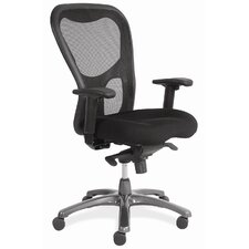 <strong>OfficeSource</strong> High Back Mesh Seating Chair