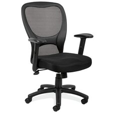 <strong>OfficeSource</strong> High-Back Mesh Chair