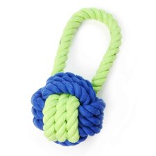 <strong>Waggo</strong> Have A Ball Rope Dog Toy