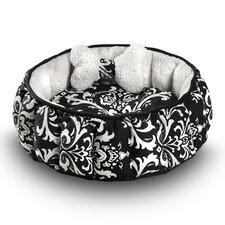 Cuddler Royal Nest Dog Bed with Bone Toy